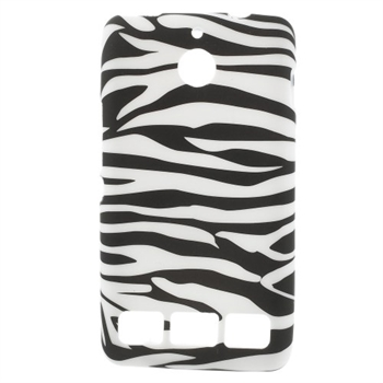 Billede af Sony Xperia E1 inCover Design TPU Cover - Zebra