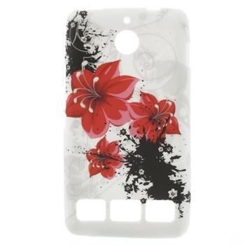 Billede af Sony Xperia E1 inCover Design TPU Cover - Red Heart