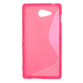 Billede af Sony Xperia M2 inCover TPU S-Line Cover - Rosa