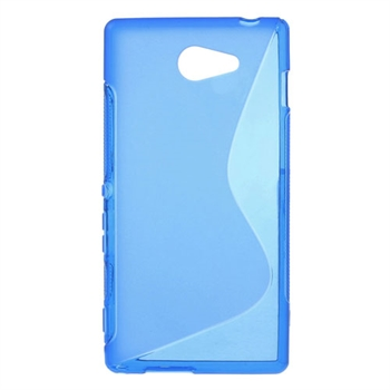 Billede af Sony Xperia M2 inCover TPU S-Line Cover - Blå