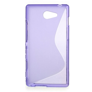 Billede af Sony Xperia M2 inCover TPU S-Line Cover - Lilla