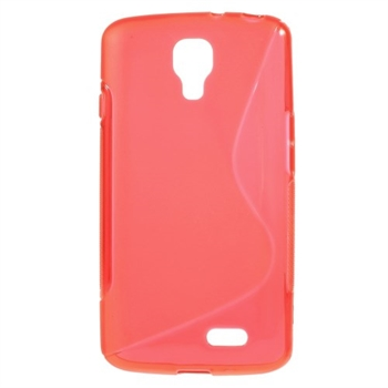 Image of LG F70 inCover TPU S-line Cover - Rød