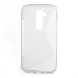 Billede af LG G2 inCover TPU S-line Cover - Gennemsigtig