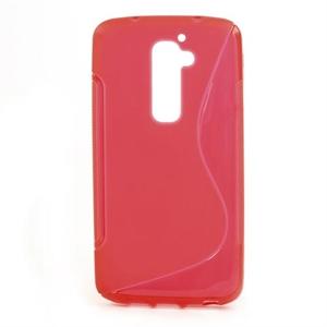 Billede af LG G2 inCover TPU S-line Cover - Rød