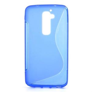 Billede af LG G2 inCover TPU S-line Cover - Blå
