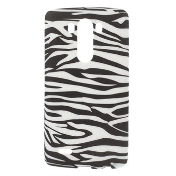 Image of LG G3 inCover Design TPU Cover - Zebra