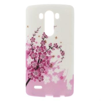 Billede af LG G3 inCover Design TPU Cover - Plum Blossom