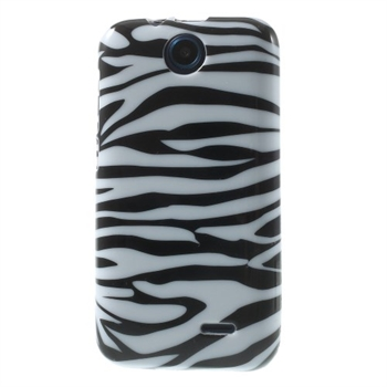Image of HTC Desire 310 inCover Design TPU Cover - Zebra