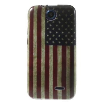 Image of HTC Desire 310 inCover Design TPU Cover - Stars & Stripes