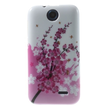 Image of HTC Desire 310 inCover Design TPU Cover - Plum Blossom
