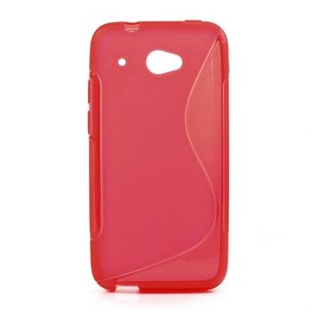 Billede af HTC Desire 601 inCover TPU S-line Cover - Rød