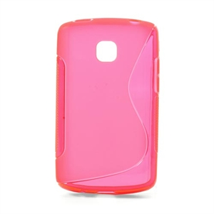Image of LG Optimus L1 2 inCover TPU S-line Cover - Rosa