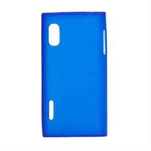Image of LG Optimus L5 TPU cover fra inCover - blå