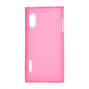 Image of LG Optimus L5 TPU cover fra inCover - pink