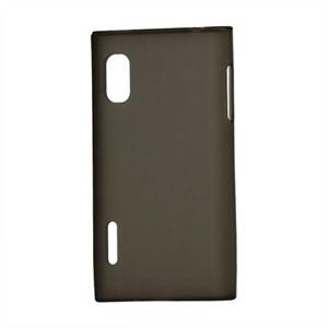 LG Optimus L5 TPU cover fra inCover - sort