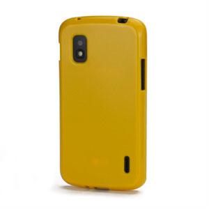 Billede af Google Nexus 4 TPU cover fra inCover - gul