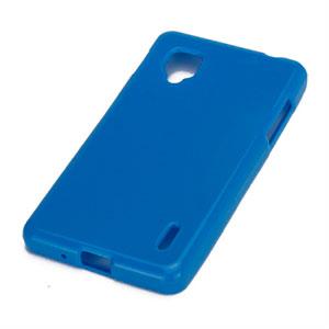 Image of LG Optimus G TPU cover fra inCover - blå