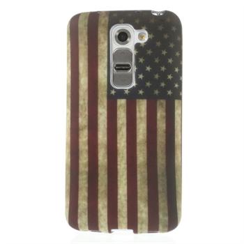 Billede af LG G2 Mini inCover Design TPU Cover - Stars & Stripes
