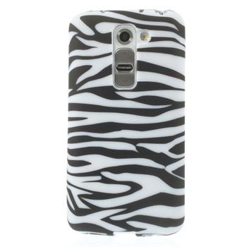 Billede af LG G2 Mini inCover Design TPU Cover - Zebra