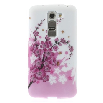 Billede af LG G2 Mini inCover Design TPU Cover - Plum Blossom