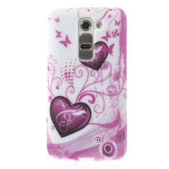 Billede af LG G2 Mini inCover Design TPU Cover - Two Hearts