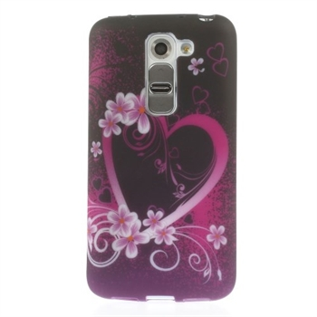 Billede af LG G2 Mini inCover Design TPU Cover - Heart