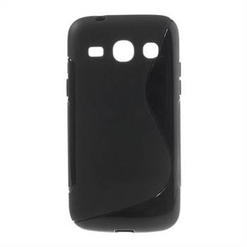 Image of   Samsung Galaxy Core Plus inCover TPU S-line Cover - Sort