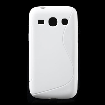 Image of Samsung Galaxy Core Plus inCover TPU S-line Cover - Hvid