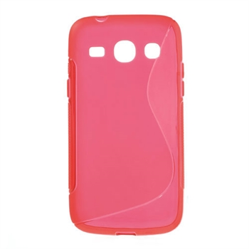 Image of Samsung Galaxy Core Plus inCover TPU S-line Cover - Rød