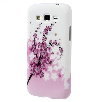Billede af Samsung Galaxy Grand 2 inCover Design TPU Cover - Plum Blossom