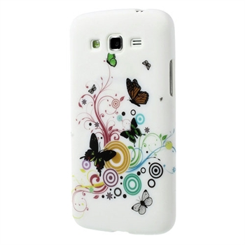 Billede af Samsung Galaxy Grand 2 inCover Design TPU Cover - Vivid Butterfly