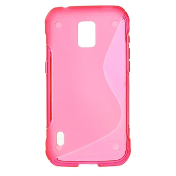 Image of Samsung Galaxy S5 Active inCover TPU S-line Cover - Rosa