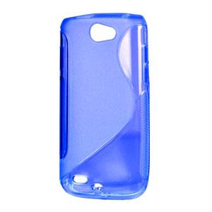 Billede af Samsung Galaxy W TPU S-line cover fra inCover - blå