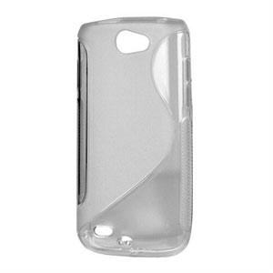 Billede af Samsung Galaxy W TPU S-line cover fra inCover - grå