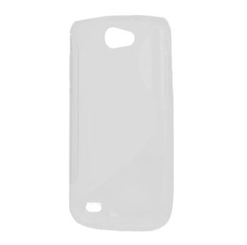Billede af Samsung Galaxy W TPU S-line cover fra inCover - hvid
