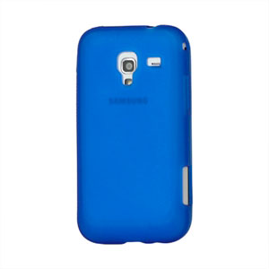 Billede af Samsung Galaxy Ace 2 TPU cover fra inCover - blå
