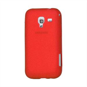 Billede af Samsung Galaxy Ace 2 TPU cover fra inCover - rød