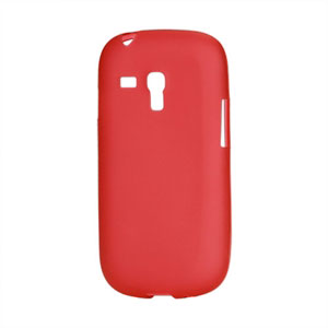 Billede af Samsung Galaxy S3 Mini TPU cover fra inCover - rød