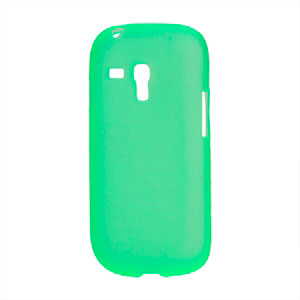Image of   Samsung Galaxy S3 Mini TPU cover fra inCover - grøn