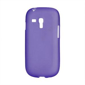Billede af Samsung Galaxy S3 Mini TPU cover fra inCover - lilla