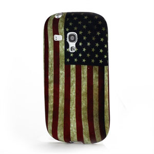 Billede af Samsung Galaxy S3 Mini Design TPU cover fra inCover - Stars and Stripes