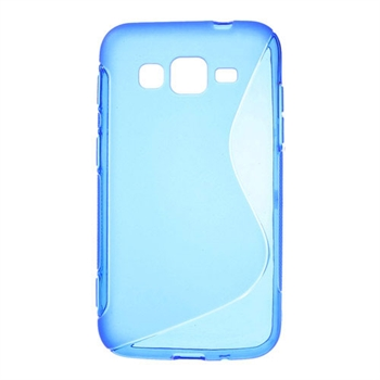 Image of Samsung Galaxy Core Advanced inCover TPU S-line Cover - Blå