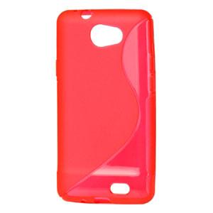 Billede af Samsung Galaxy R TPU S-line cover fra inCover - rød
