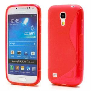 Billede af Samsung Galaxy S4 Mini inCover TPU S-line Cover - Rød