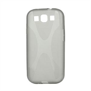 Billede af Samsung Galaxy S3 TPU X-line cover fra inCover - grå