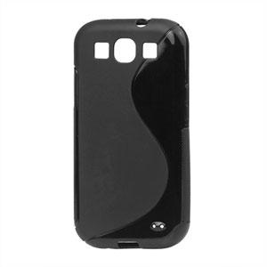 Billede af Samsung Galaxy S3 TPU S-line cover fra inCover - sort