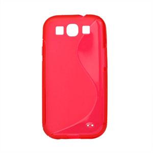 Billede af Samsung Galaxy S3 TPU S-line cover fra inCover - rød