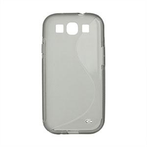 Billede af Samsung Galaxy S3 TPU S-line cover fra inCover - grå