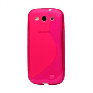 Billede af Samsung Galaxy S3 TPU S-line cover fra inCover - rosa