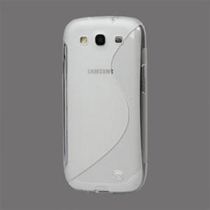 Billede af Samsung Galaxy S3 TPU S-line cover fra inCover - gennemsigtig